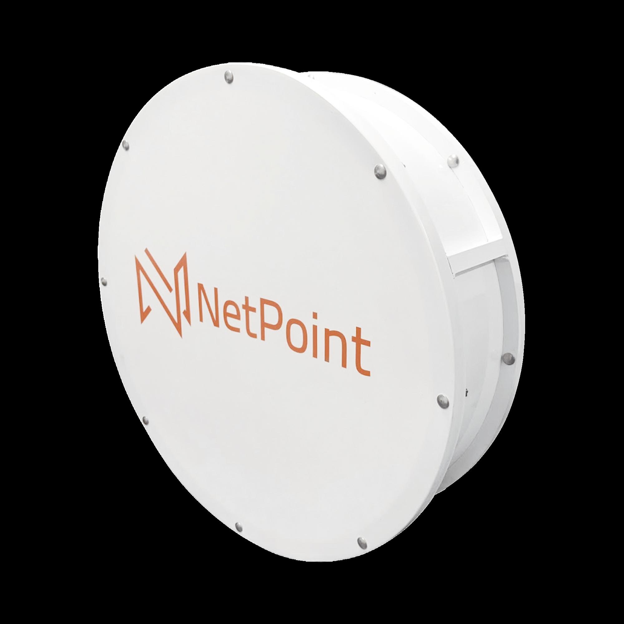 Radomo aislante para alta inmunidad al ruido, reduce interferencia de lóbulos laterales, compatible con antenas NP2