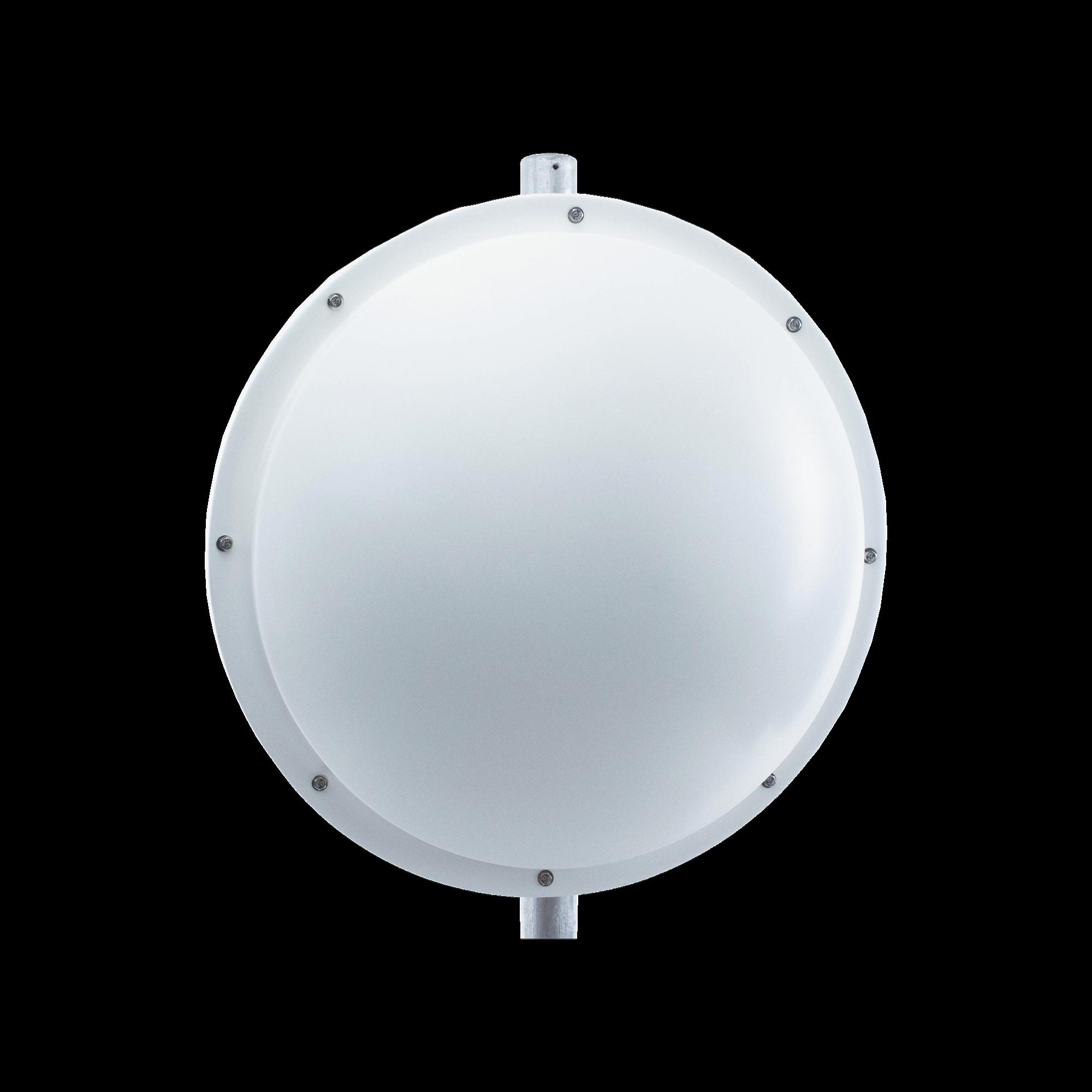 Antena de uso rudo para zona salinas de 3 ft, 4.9-6.2 GHz, Ganancia 34 dBi con SLANT de 45 ? y 90?, Conectores N-hembra, y montaje incluido.