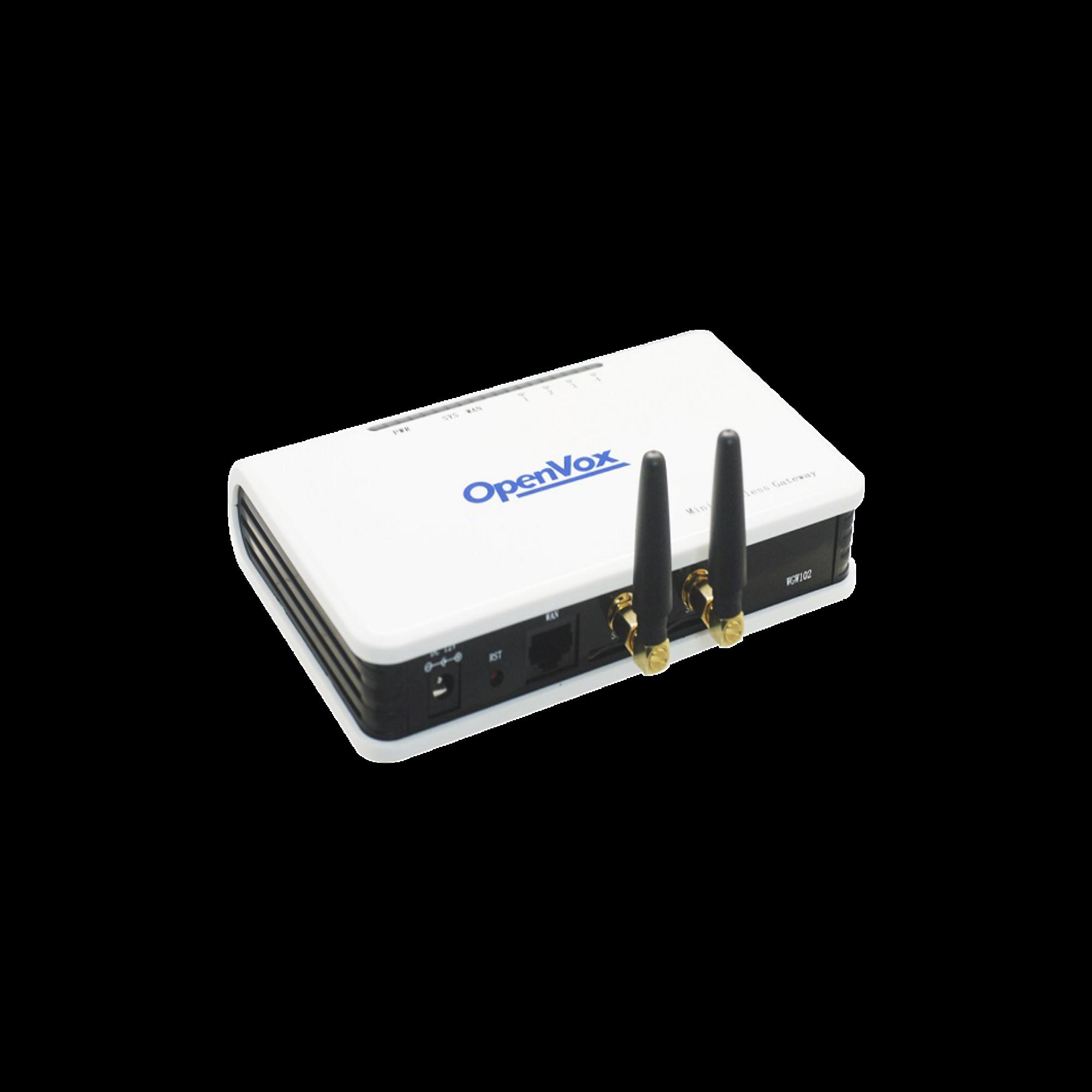 Gateway GSM 3G, con 2 puertos para SIM, compatible con Grandstream y 3CX, protocolo SIP e IAX2