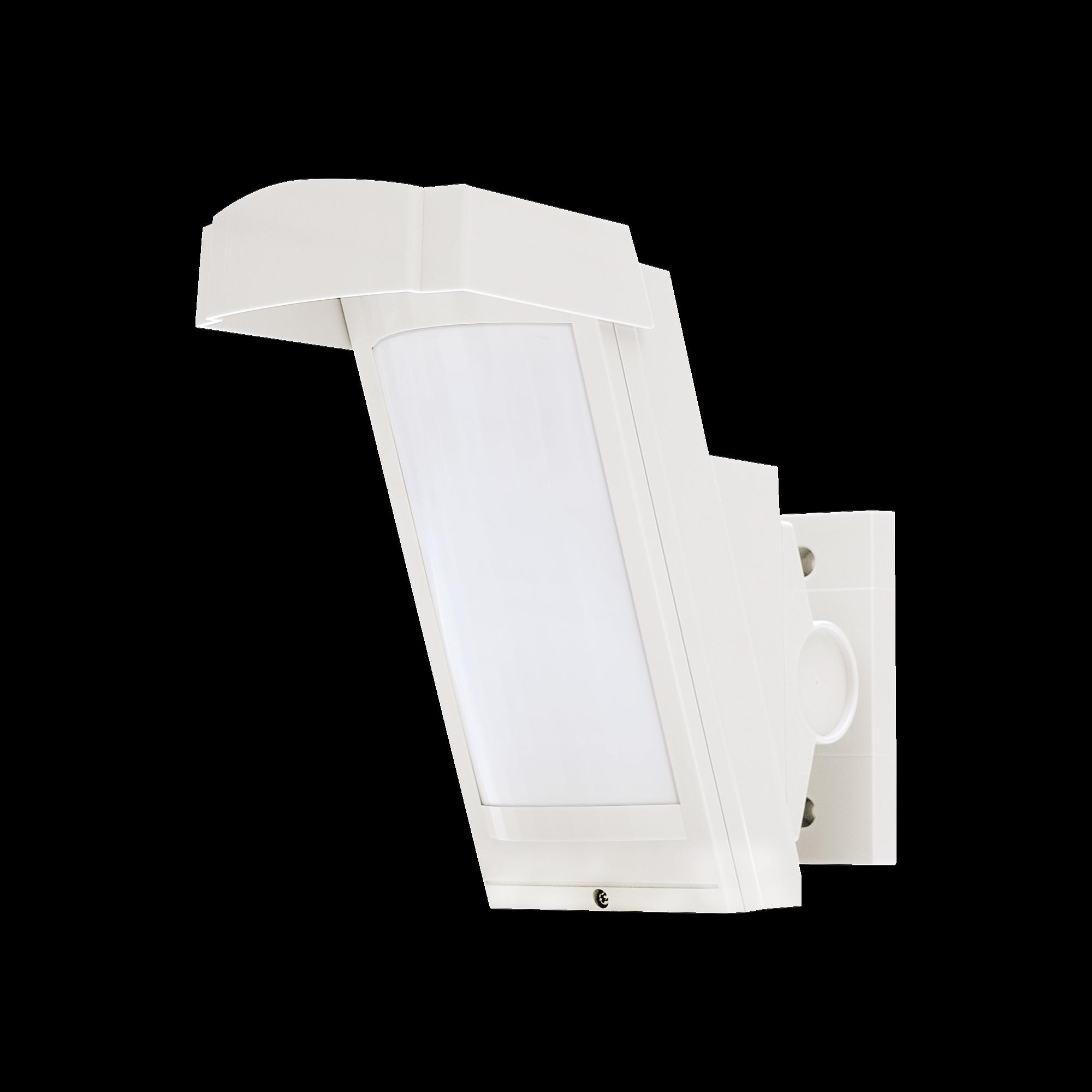 Detector de Movimiento PIR Antimascara / 100% Exterior /  Inalambrico (Alimentación) / Hasta 12 metros a 85?; de cobertura/ Instalación a 3 metros / Compatible con cualquier panel de alarma