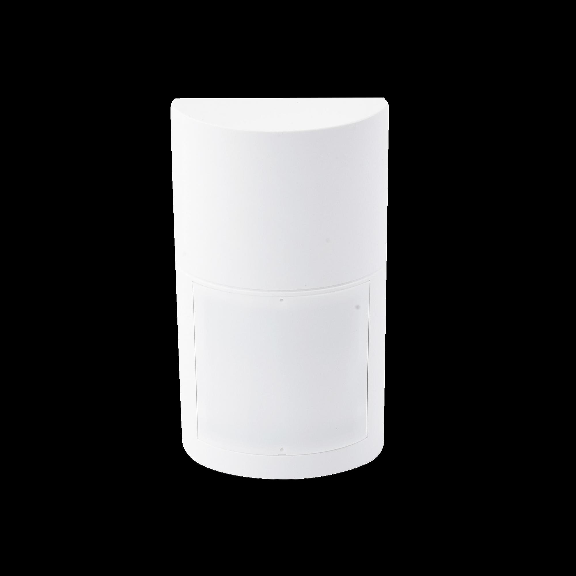 Detector de Movimiento Pasivo / Altura de montaje 0.8m a 2.7 m  ajustable / Estándar Cableado / 100% Exterior / Compatible con cualquier panel de alarma