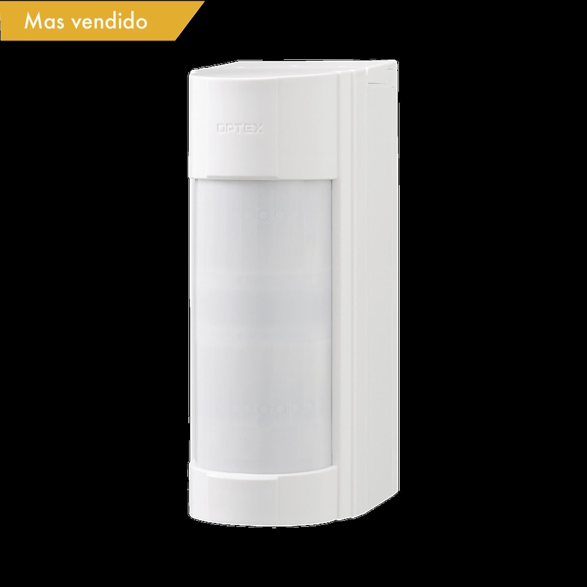 Detector de Movimiento Pasivo / Inalambrico (Alimentación) / 100% Exterior / Compatible con cualquier panel de alarma