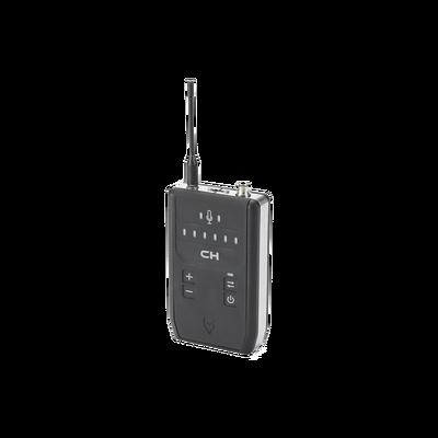 Radio de 1 canal en 900 MHz del sistema intercomunicador full duplex (manos libres) OTTO Connect , con conector HR para diademas intercambiables, que se venden por separado.
