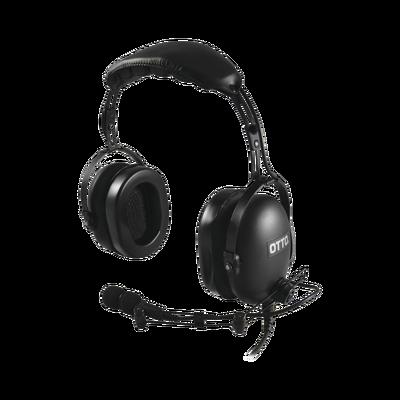 Diadema Heavy Duty sobre la cabeza para KENWOOD NX240/340/220/320/420, TK-3230/3000/3402/3312/3360/3170