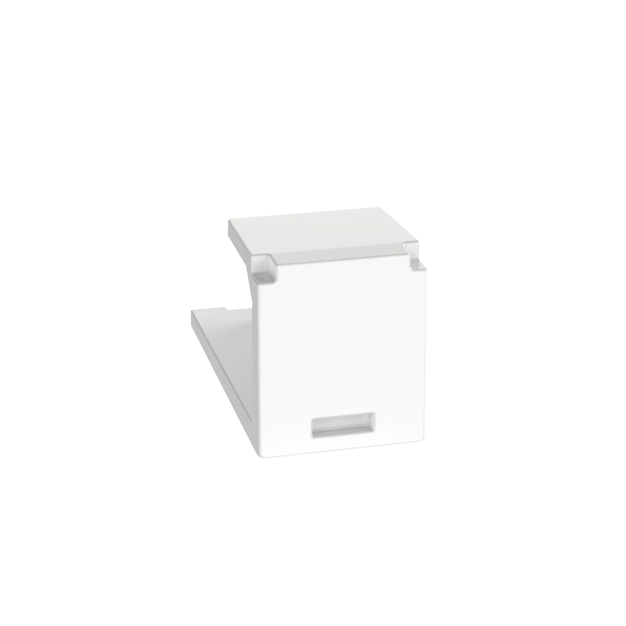 Módulo de tapa ciega (Inserto Ciego), Mini-Com, Color Blanco