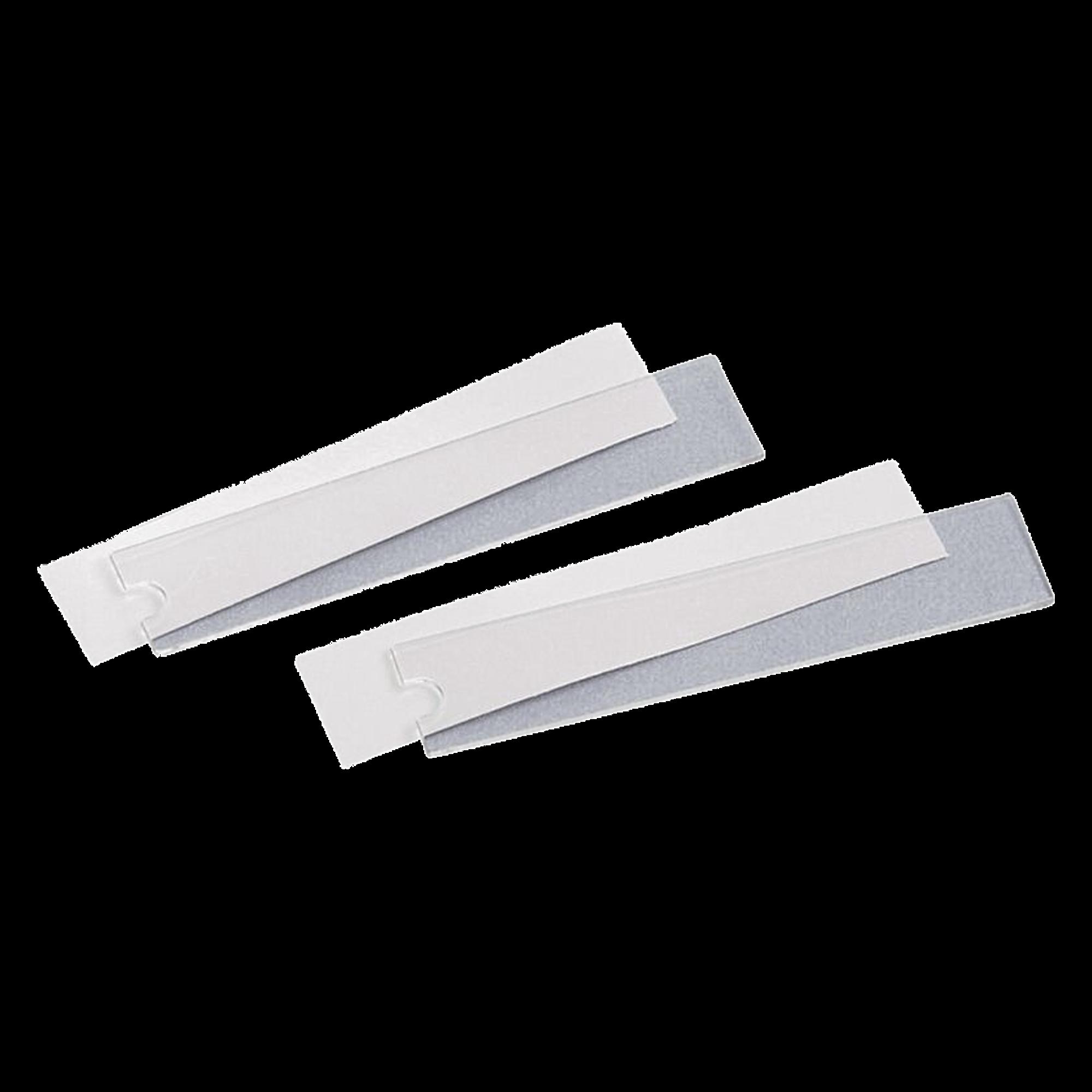 Kit de 50 Etiquetas y 50 Cubiertas, para Uso con Placas de Pared Mini-Com? Ejecutivas o Clásicas con Espacio para Etiqueta