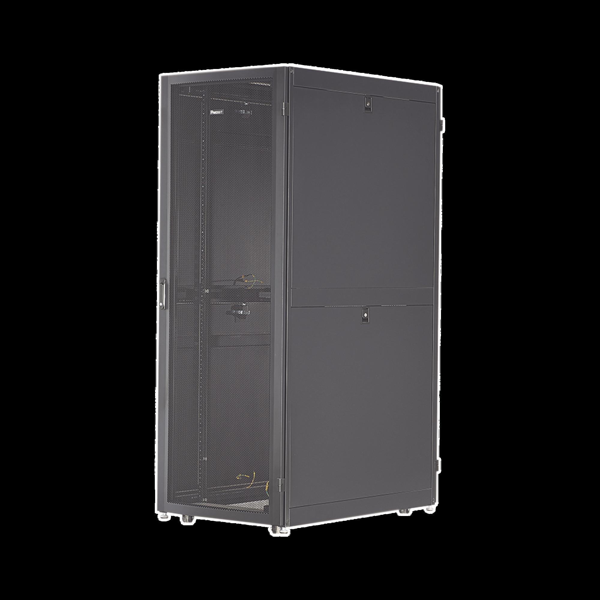 Gabinete Net-Verse para Centros de Datos, 45UR, 800mm de Ancho, 1000mm de Profundidad, Fabricado en Acero, Color Negro