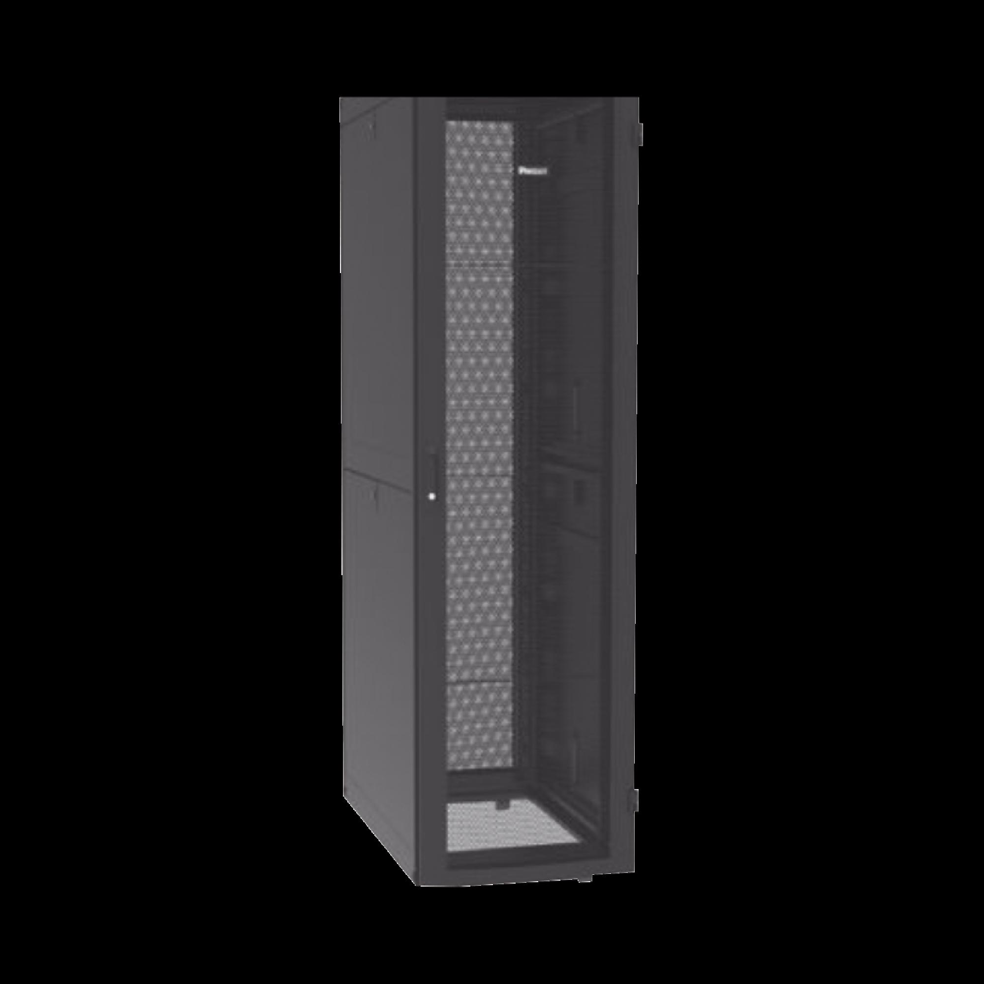 Gabinete Net-Verse para Centros de Datos, 45UR, 600mm de Ancho, 1200mm de Profundidad, Fabricado en Acero, Color Negro