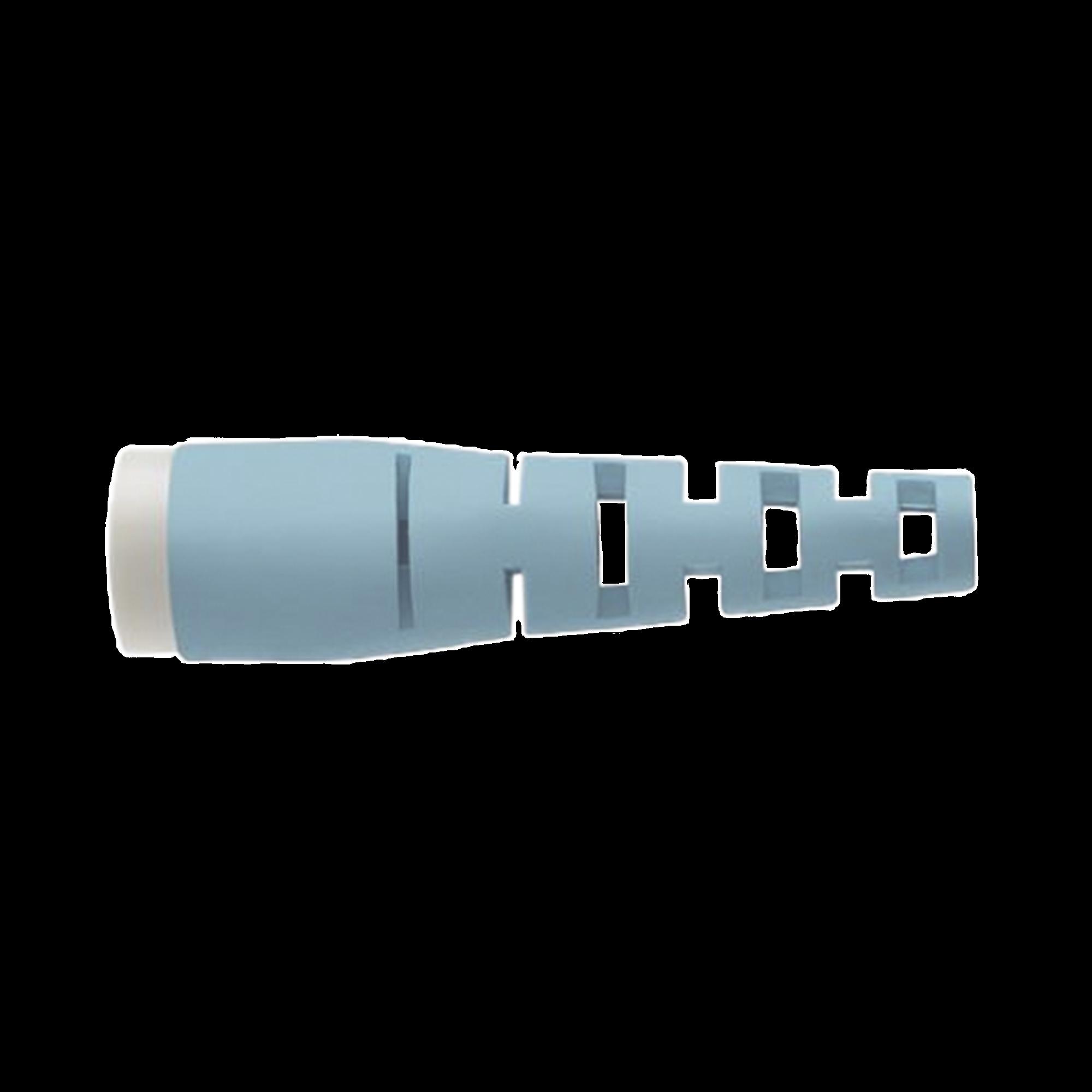 Bota para Conectores LC Pre-Pulidos Opticam de Panduit, Para Fibra de 1.6/2.0 mm, Color Aqua, 10 piezas