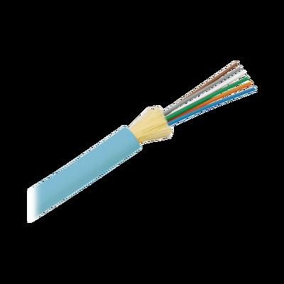 Cable de Fibra Óptica de 6 hilos, Multimodo OM3 50/125 Optimizada, Interior, Tight Buffer 900um, No Conductiva (Dieléctrica), OFNR (Riser), Precio Por Metro