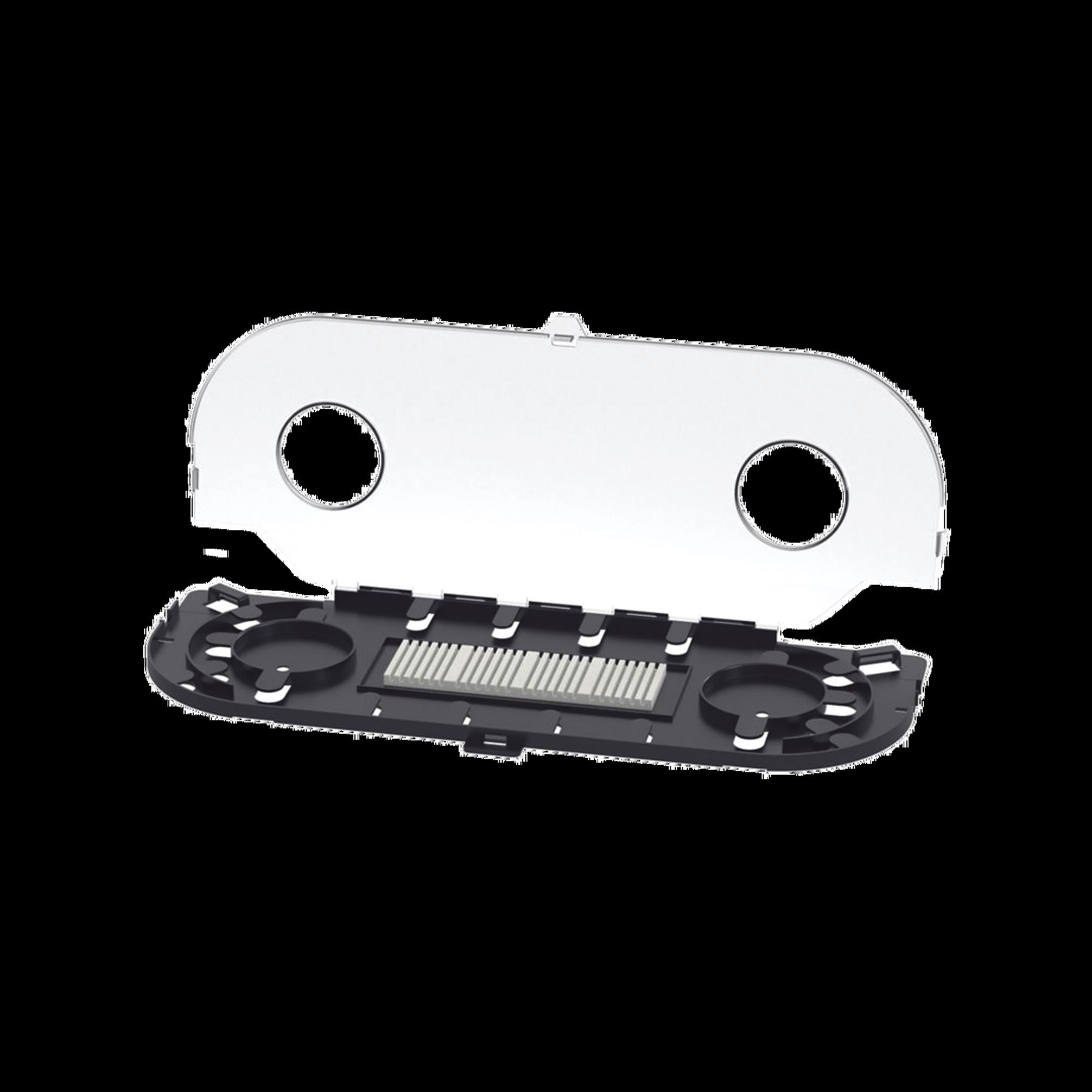 Charola de Empalme para Fibra óptica, Para Protección de 24 Empalmes de Fusión o Mecánicos, Compatible con los Paneles FCEU o FRMEU