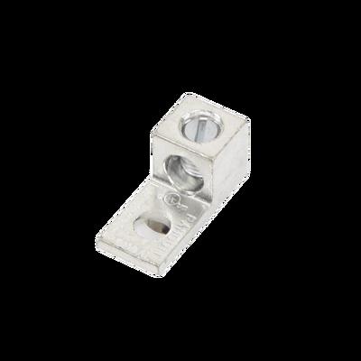 Conector Mecánico de Aluminio, de Un Orificio y Un Barril, para Cable de 14 a 2 AWG
