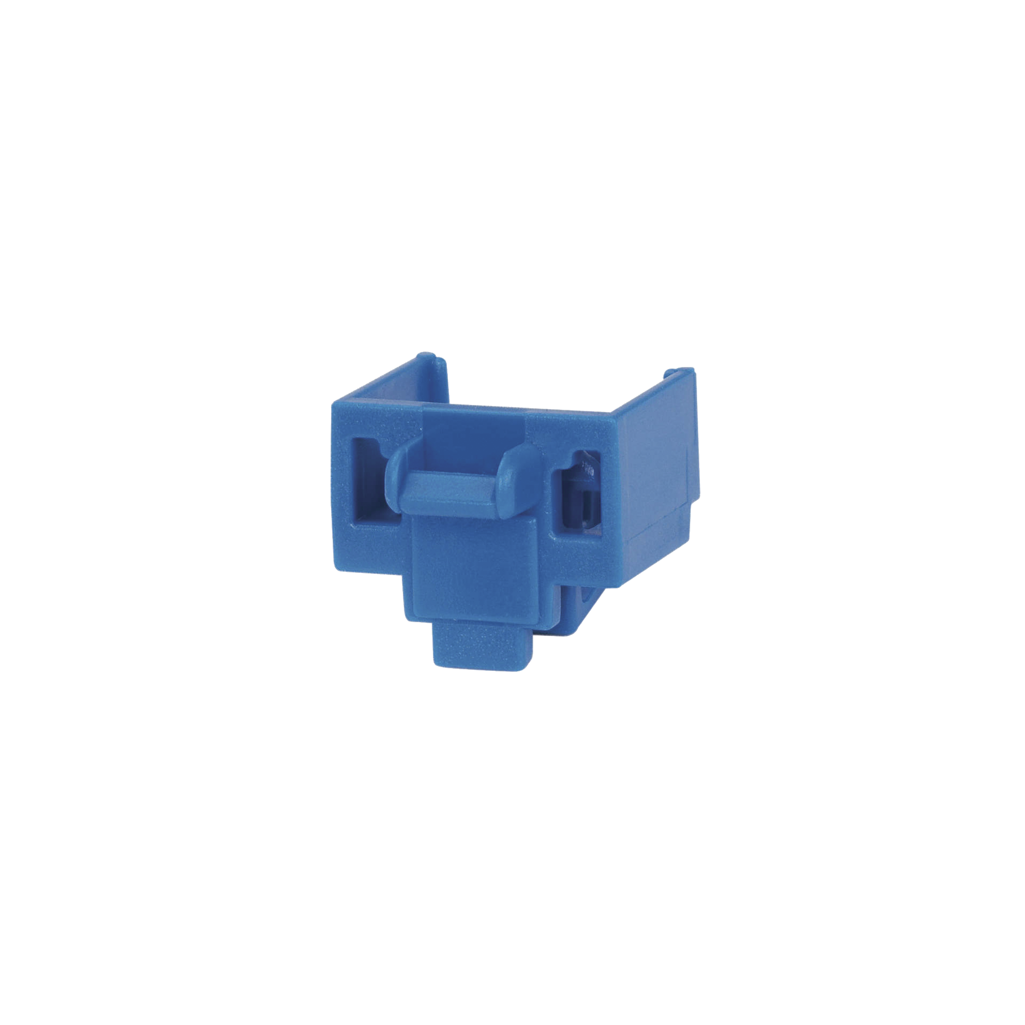 Kit de 10 Dispositivos para Bloquear Puertos RJ45, Color Azul, Incluye Llave de Extracción