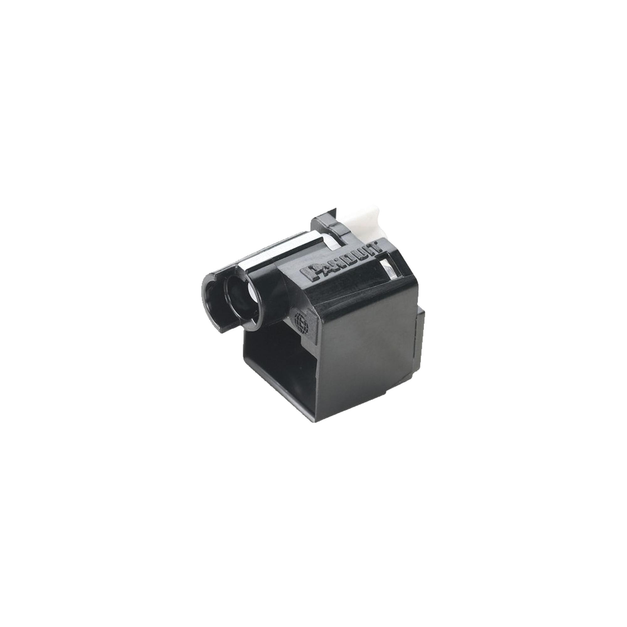 Kit de 10 Dispositivos para Impedir Desconexión de Plug RJ45, Color Negro, Incluye Herramienta para Instalar/Retirar