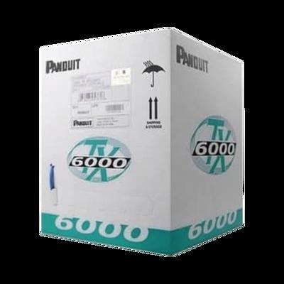 Bobina de Cable UTP 305 m. de Cobre, TX6000™ PanNet, Reelex, Amarillo, Categoría 6 Mejorado (23 AWG), PVC (CMR, Riser), de 4 pares