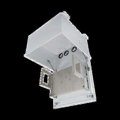 Gabinete PanZone Estándar, de Montaje en Techo, Con 8 UR Para Equipo Pasivo, Fabricado en Acero, Color Blanco