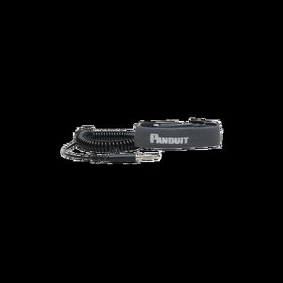 Pulsera Anti Descargas Electroestática (ESD), de Tela Ajustable, con Cable en Espiral de 1.82m (6ft)