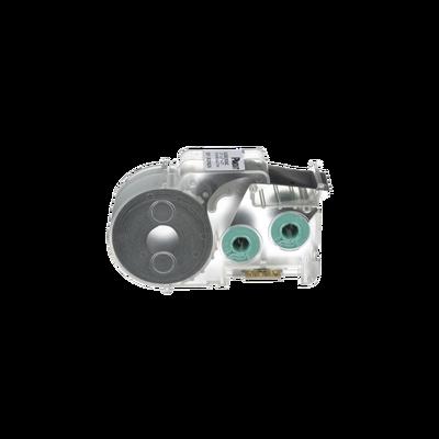 Casete de 200 Etiquetas Autolaminadas de 25.4 x 38.1 mm, para Cables de 4 a 8.1 mm de Diámetro, Área de Impresión Color Blanco