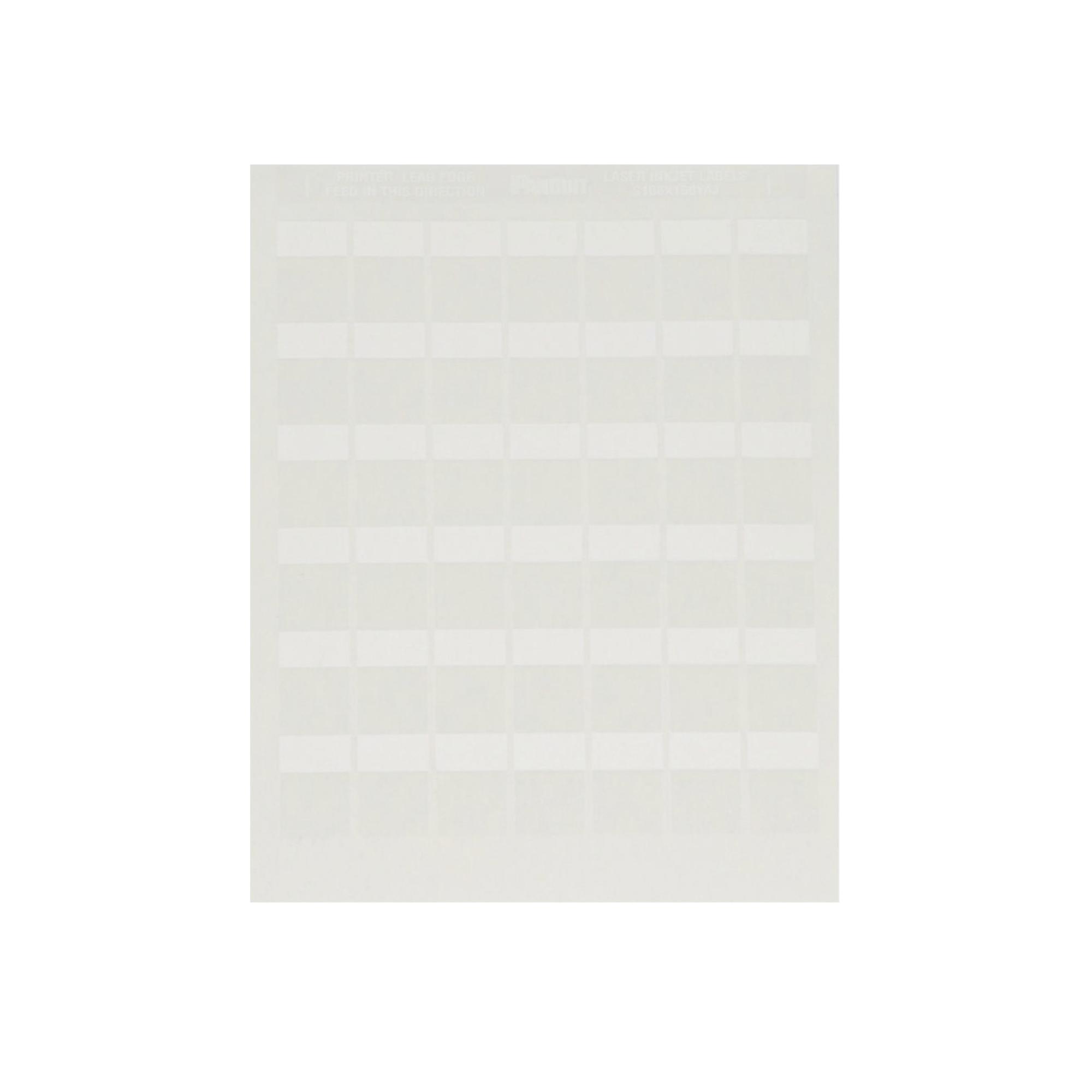 Etiquetas para Impresora Láser/Inyección de tinta, Auto-laminada para cableado de redes o cable eléctrico, 2500 etiquetas