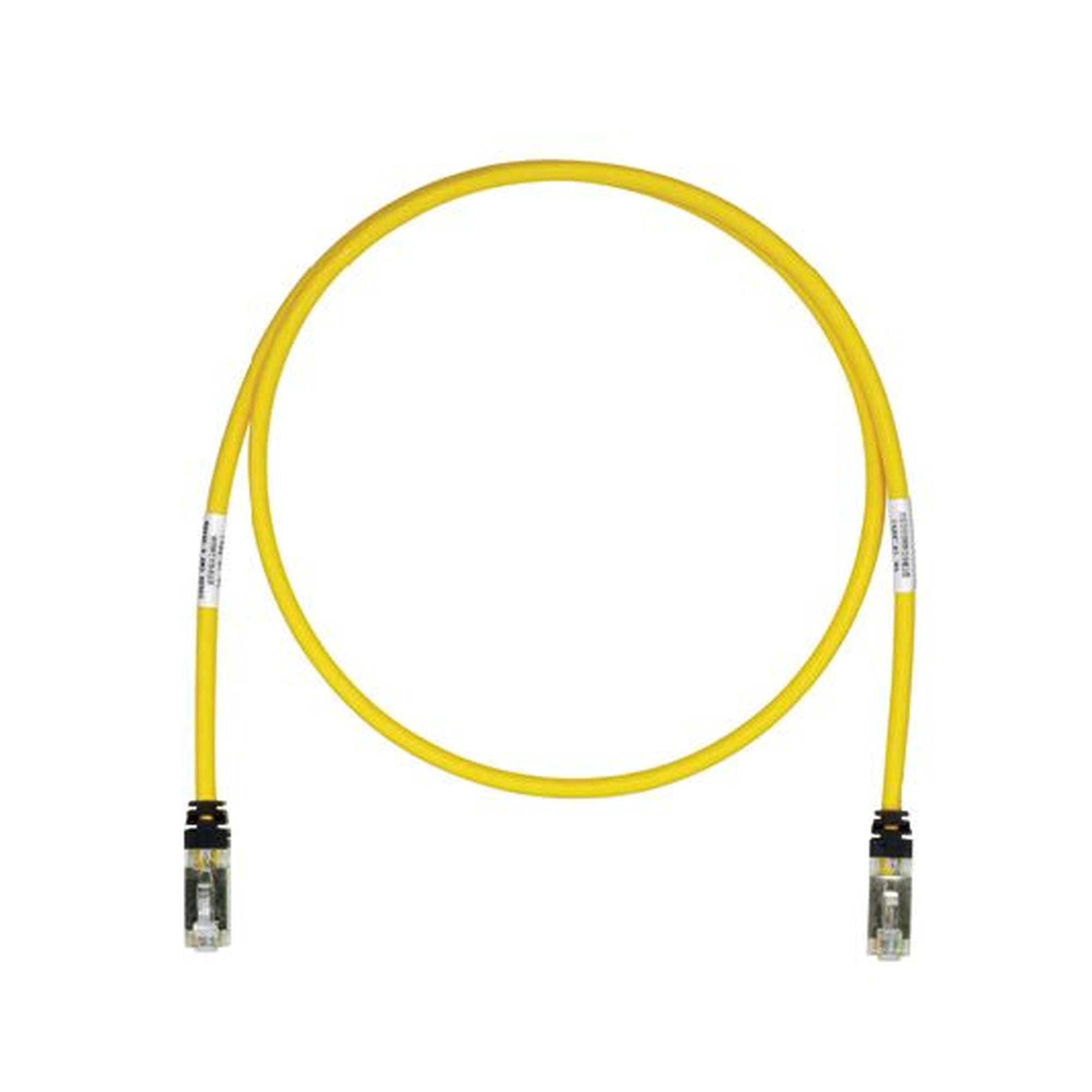Patch Cord Cat6A, Blindado S/FTP, CM/LS0H, 3ft, Color Amarillo