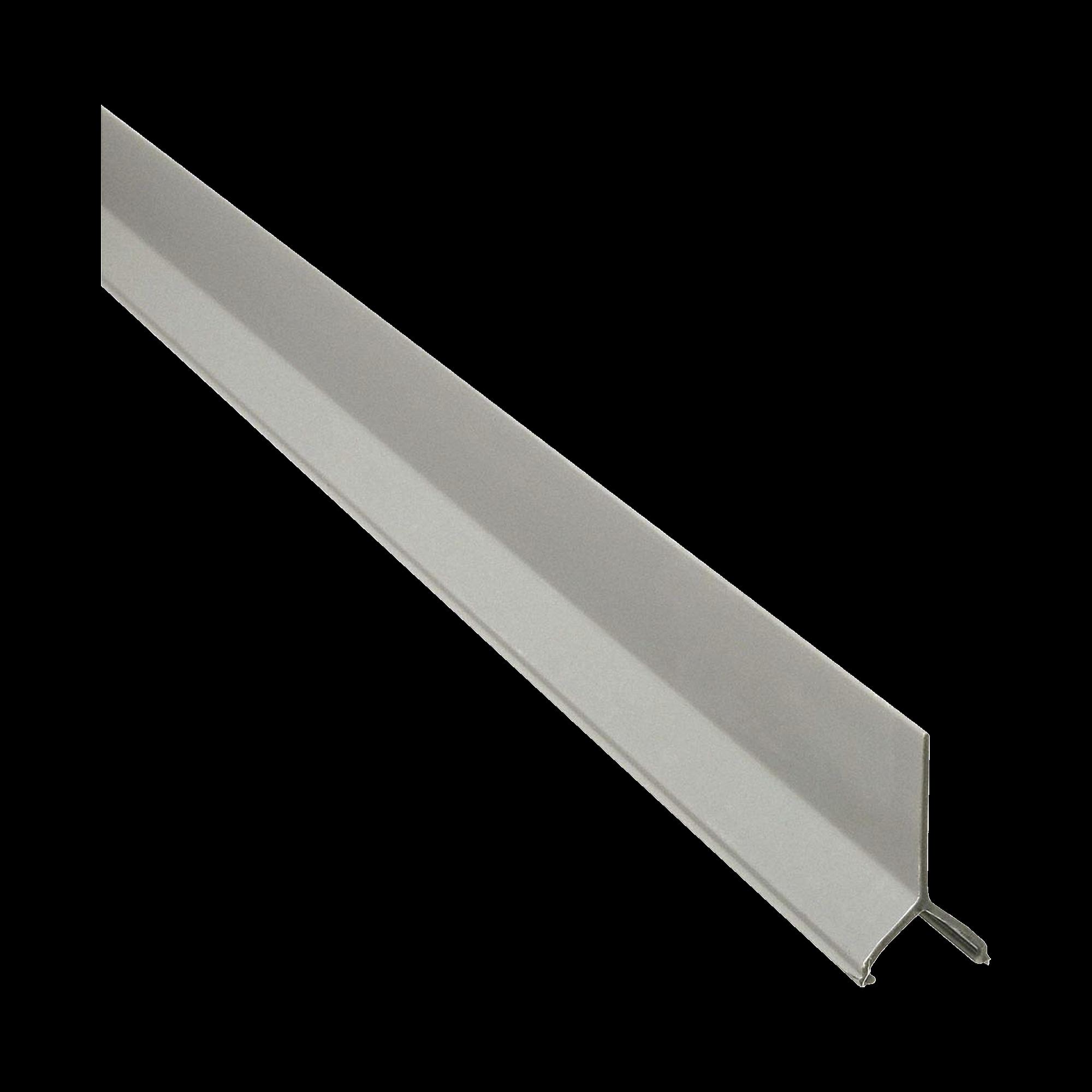 Divisor para uso con canaletas T70, Material PVC Rígido, 2.4 m de Largo, Color Gris Internacional