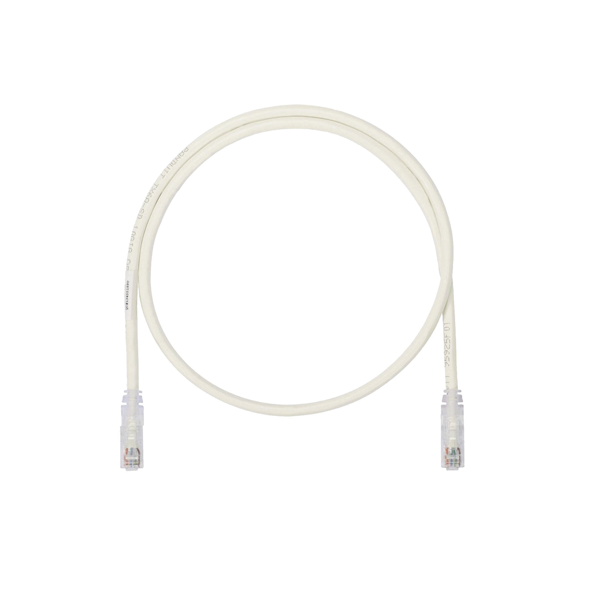 Cable de Parcheo UTP, Cat6A, 26 AWG, CM, Color Blanco Mate, 7ft
