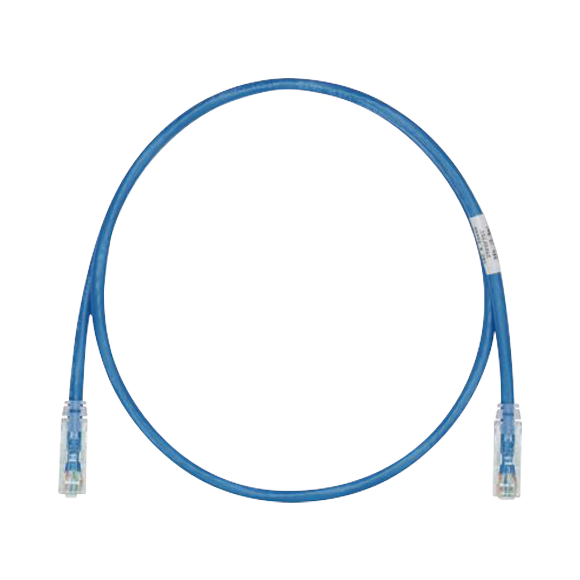 Cable de Parcheo TX6, UTP Cat6, 24 AWG, CM/LSZH, Color Azul, 7ft
