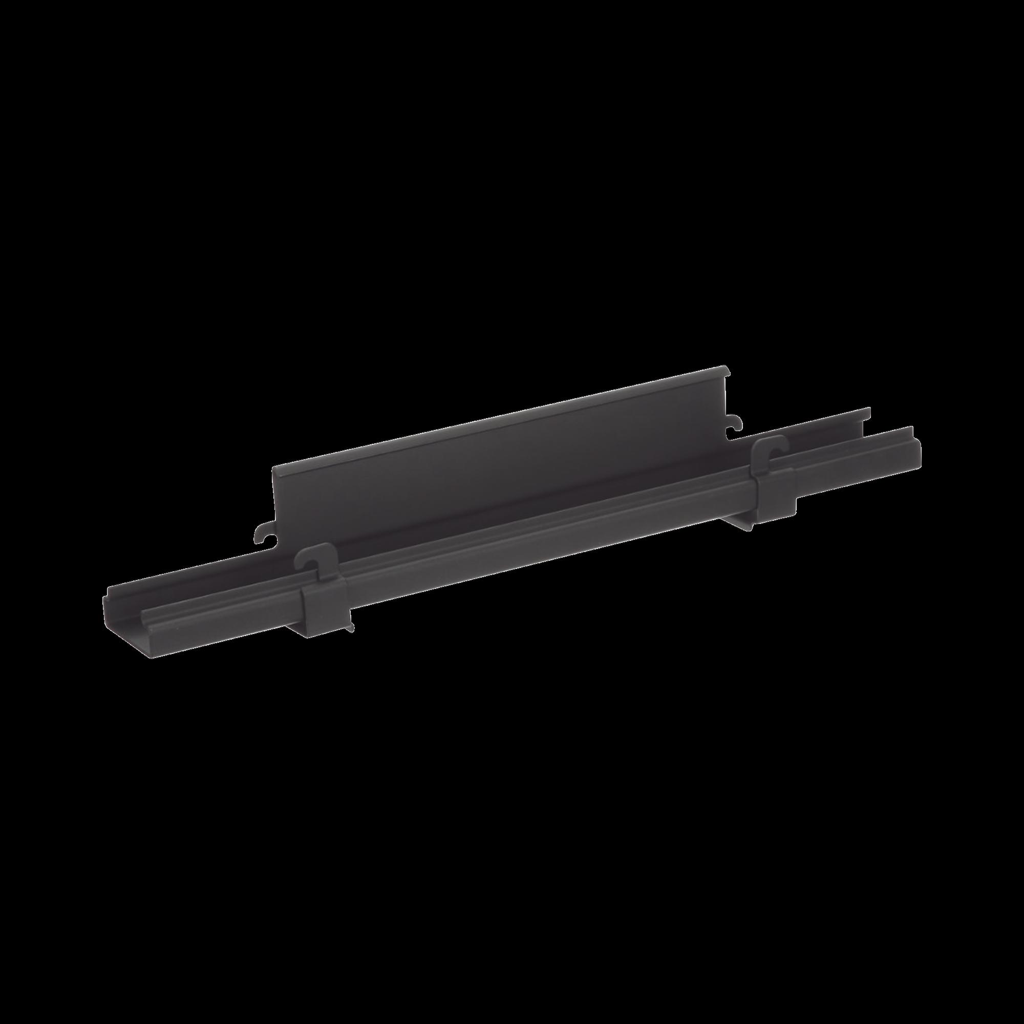 Soporte de Montaje a Techo Tipo Trapecio, para Charolas Wyr-Grid de 12 in (304.8 mm) de Ancho, Uso con Varilla Roscada de 1/2, Color Negro