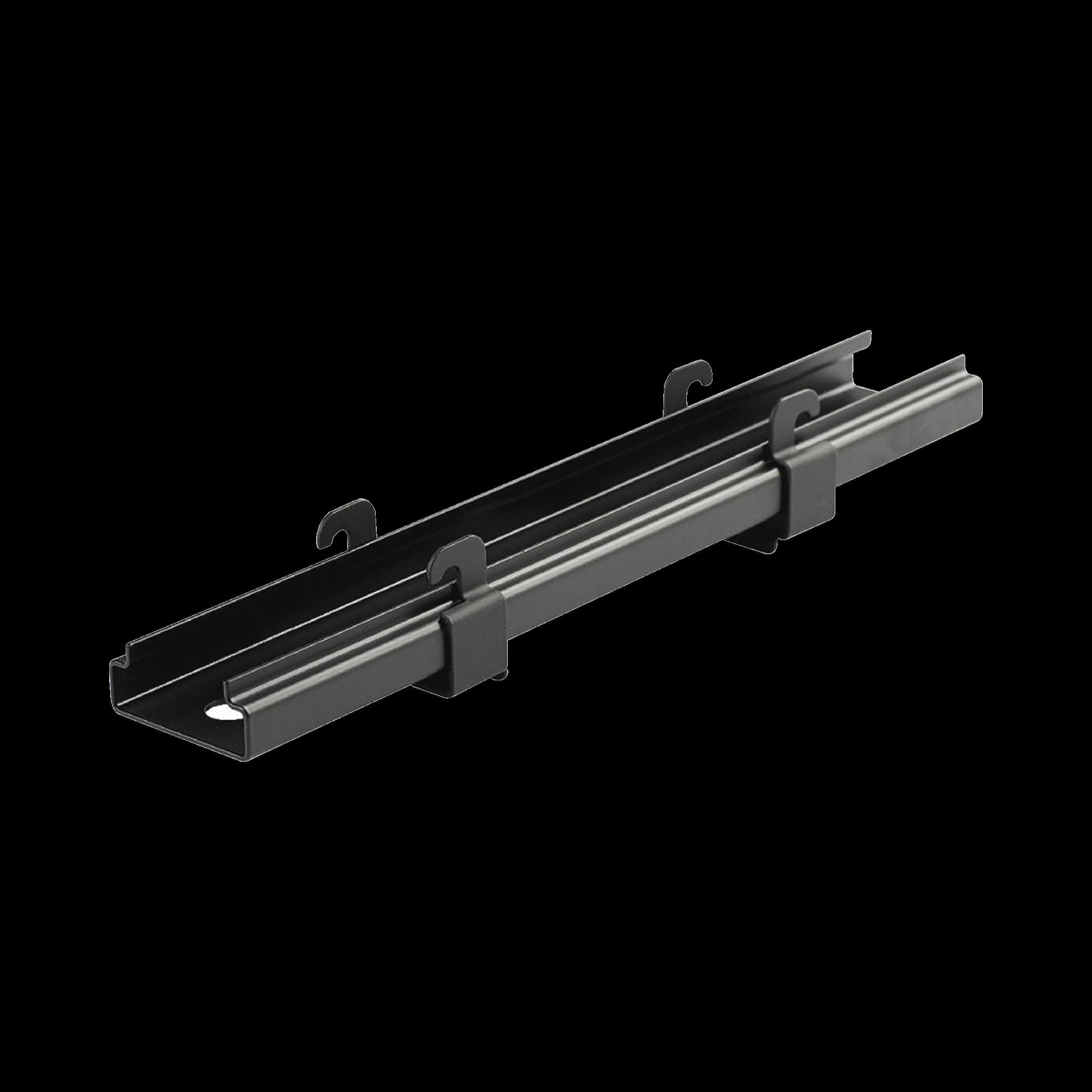 Soporte de Montaje a Techo Tipo Trapecio, para Charolas Wyr-Grid de 8 in (203.2 mm) de Ancho, Uso con Varilla Roscada de 1/2, Color Negro