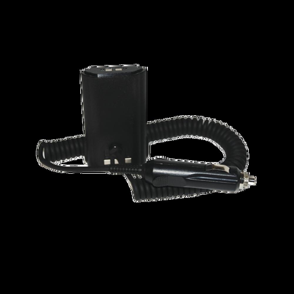 Cable adaptador para corriente vehiculo para radios Kenwood TK290 / 280 / 380 / 390 / 480 / 481, alternativa de baterias  KNB-16A, KNB-17A, KNB-17B, KNB-22N