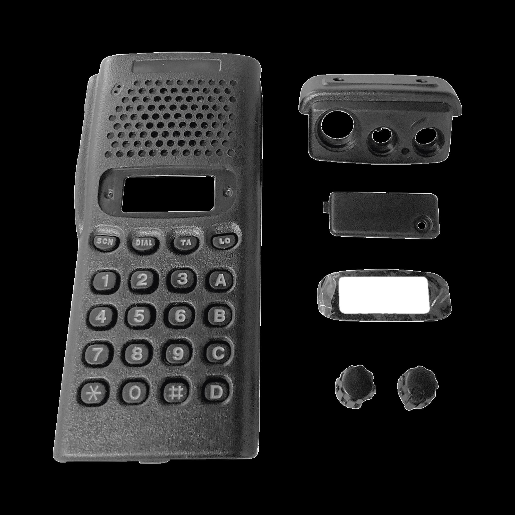 Carcasa de plástico para Radio Kenwood TK372/Incluye Accesorios