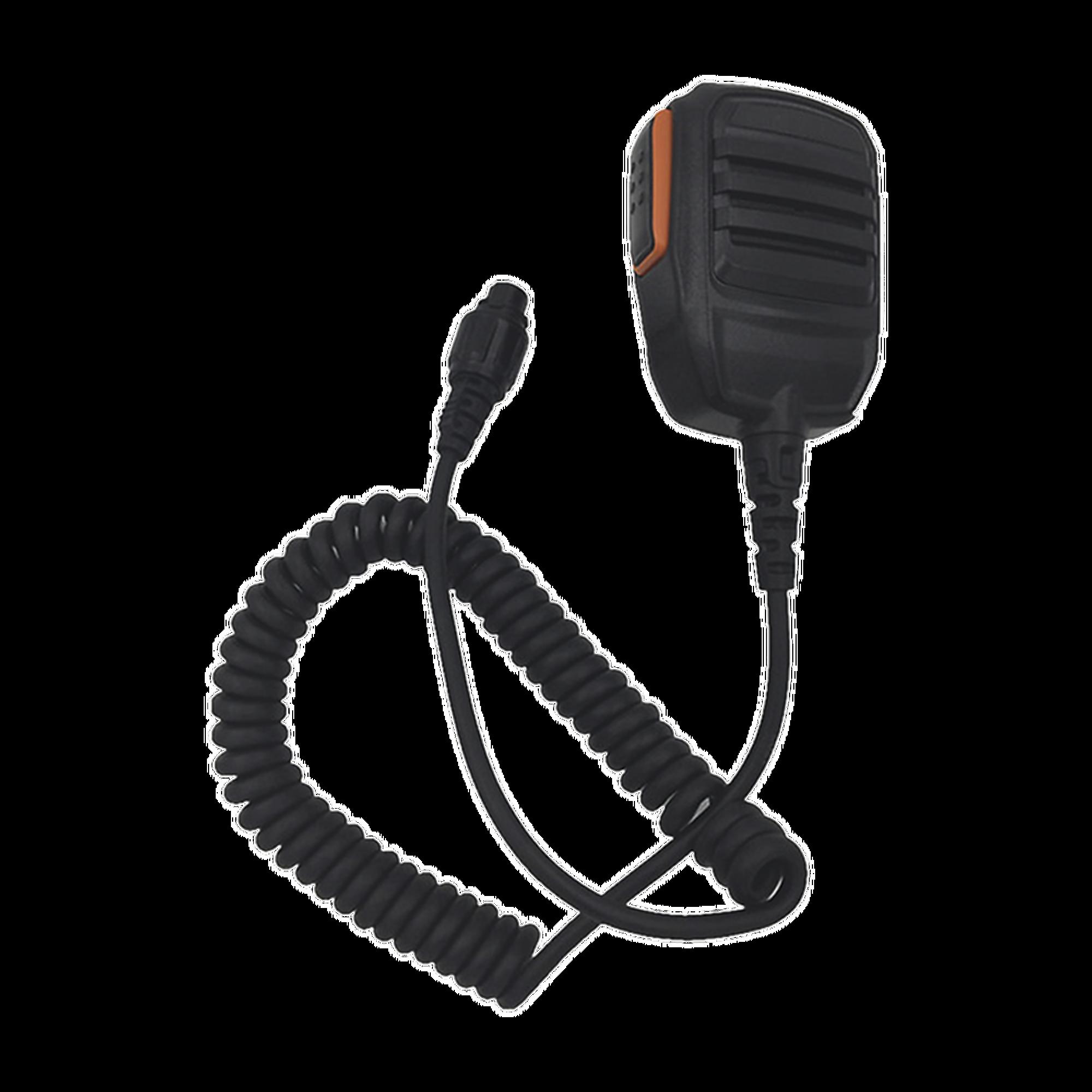 Micrófono de conector redondo para radio móvil HYT  MD760/ 780/ 786.