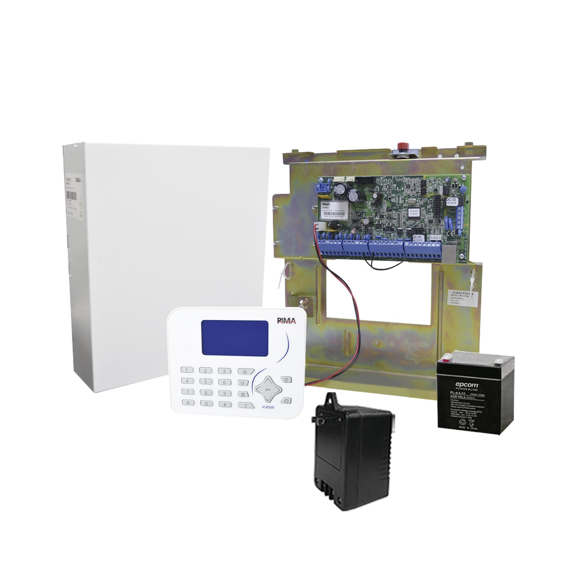 Sistema de Alarma, Panel Hibrido 8 a 144 Zonas, Conexión IP con App PIMALINK2.0 ?Gratis!