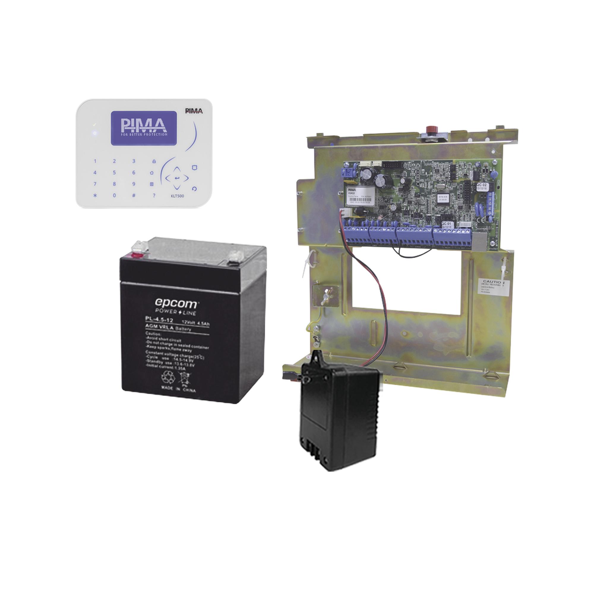 Sistema de Alarma, Panel Hibrido 8 a 144 Zonas, Conexion IP con App PIMALINK3.0 ?Gratis!