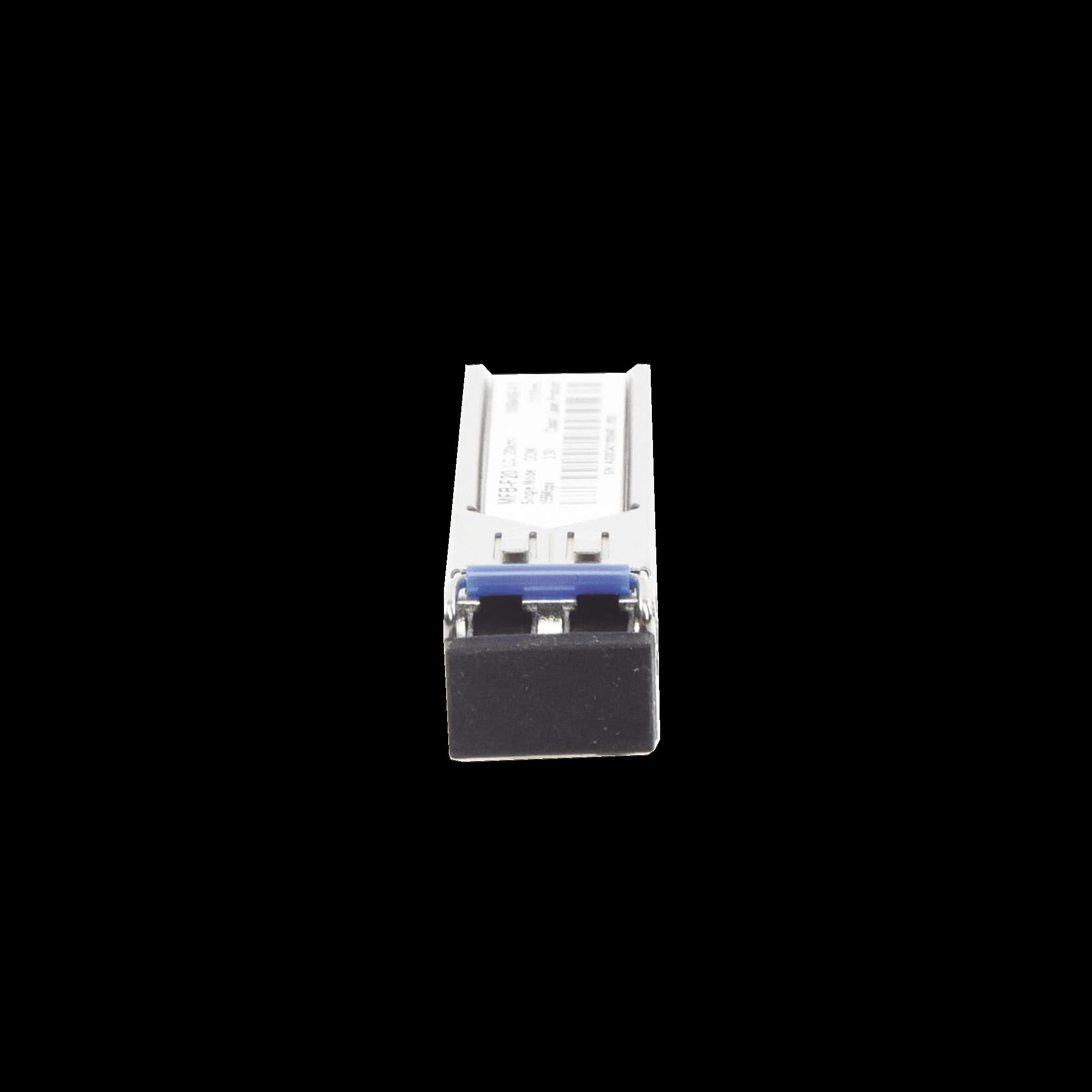 Tranceptor mini-Gbic SFP 100Mbps LC 1310nm para fibra Mono Modo 20 Km