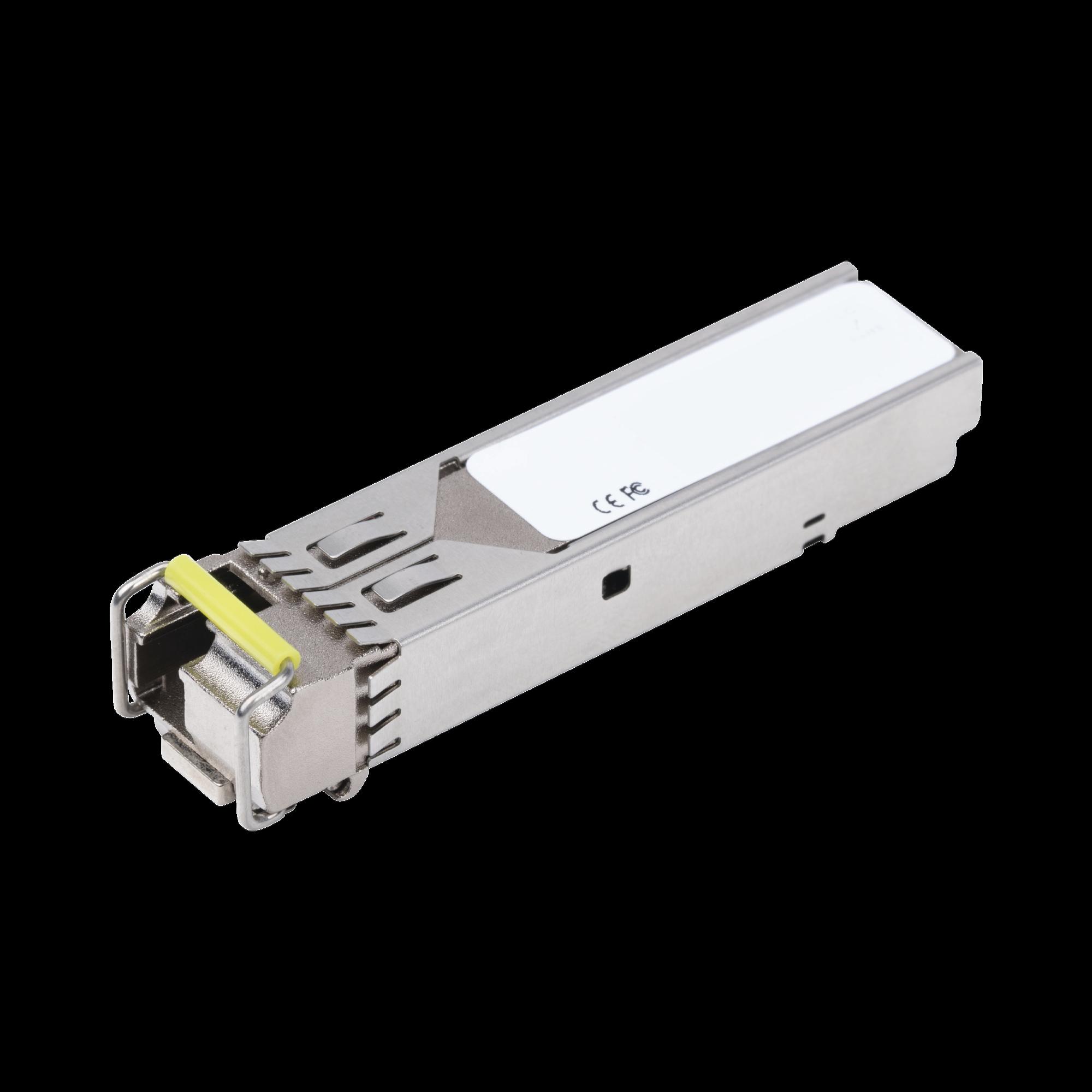 Tranceptor mini-Gbic SFP 1G LC TX:1550nm RX:1310 para fibra Mono Modo 20 Km WDM, Requiere MGB-LA20