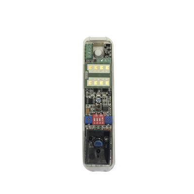 Sensor tipo cortina/ Interior y Exterior/ Funcion antimascara / Doble tecnologia PIR & MW/ Cobertura de hasta 12 metros/ Compatible con cualquier panel de alarma / Cableado
