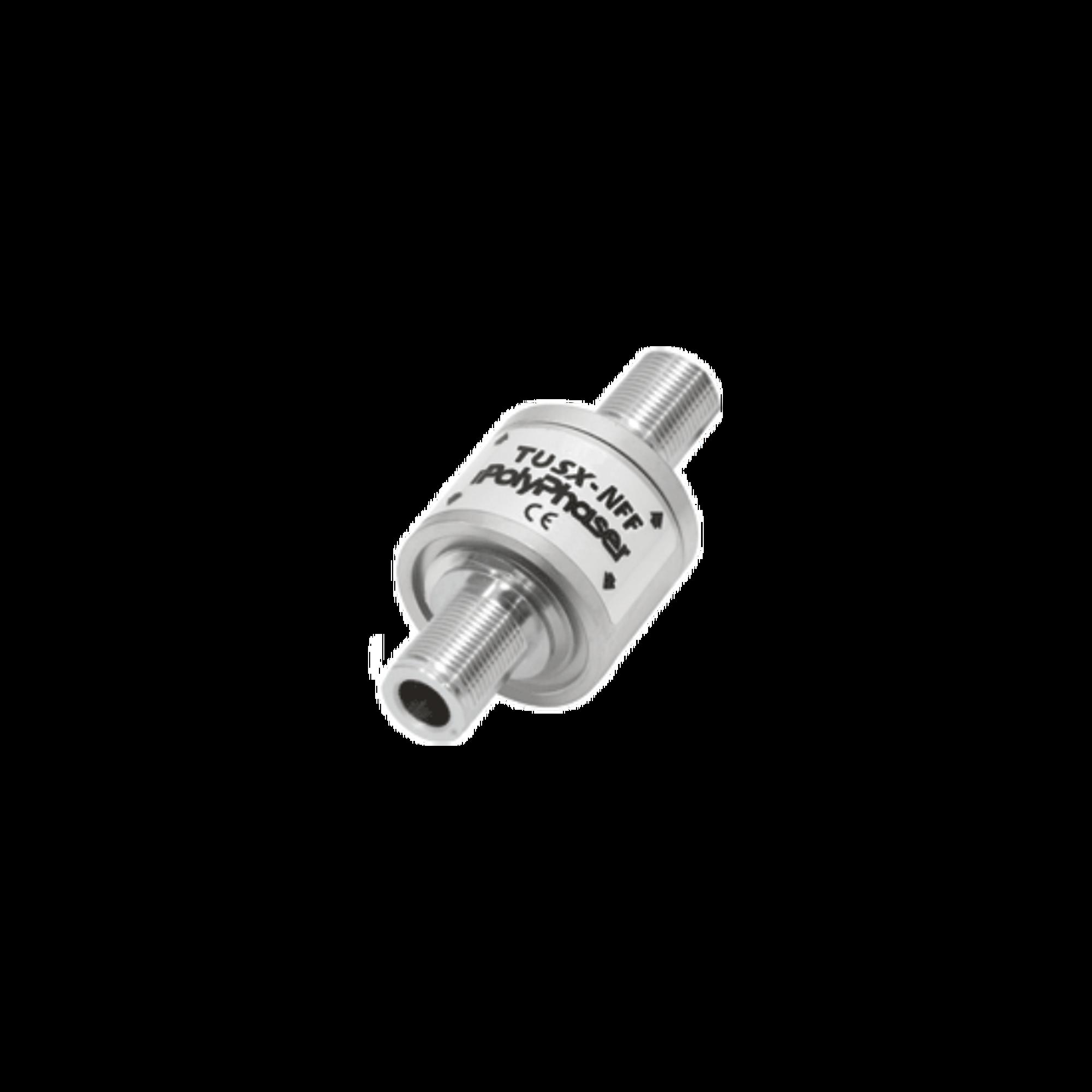 Protector RF Coaxial Contra Descargas Atmosféricas de 300 MHz a 1.2 GHz Con Conectores N Hembra