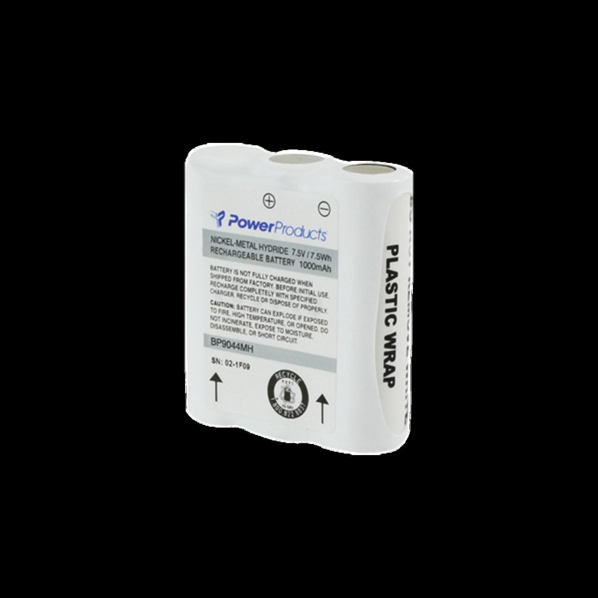 Batería de Ni-MH, 1000 mAh 7.5 V para radios Motorola SP10, SP50, P10, P50+, HT10, SPIRIT M SERIES