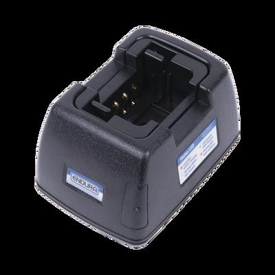 Cargador Con Adaptador Para Pared Para Radios Kenwood NX240, NX340, TK2000, TK2200L, TK2200LP, TK2207, TK2212L, TK2300, para usar con baterías de  NiCd, NiMH, Li-Ion, and LiPo. Invierta la posición del cup si es necesario para  NiMH or Li-Io