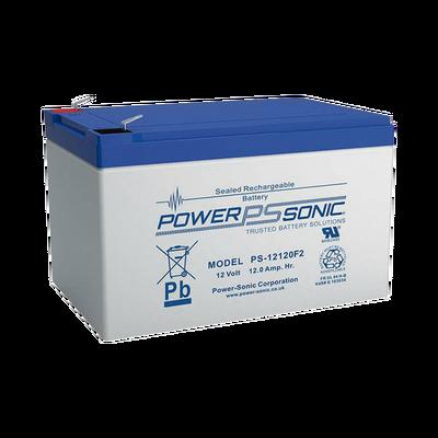 Batería de Respaldo UL de 12V 12AH / Ideal para Sistemas de Detección de Incendio / Control de Acceso / Intrusión / Videovigilancia / Terminales Tipo F2