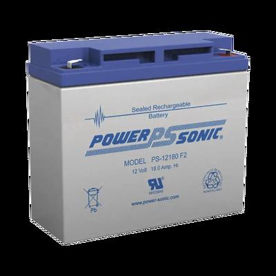 Batería de Respaldo UL de 12V 18AH / Ideal para Sistemas de Detección de Incendio / Control de Acceso / Intrusión / Videovigilancia / Terminales Tipo F2