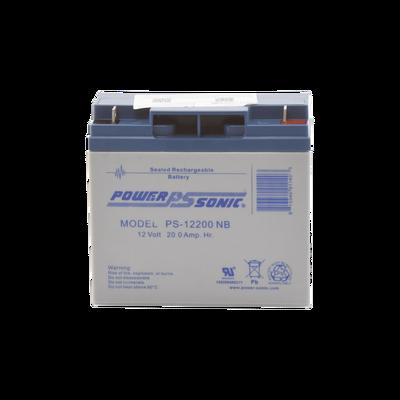 Batería de Respaldo UL de 12V 20AH / Ideal para Sistemas de Detección de Incendio / Control de Acceso / Intrusión / Videovigilancia / Terminales Tipo NB