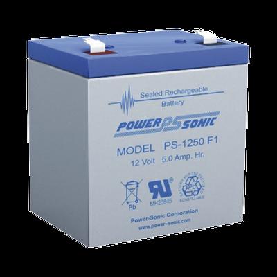 Batería de Respaldo UL de 12V 5AH / Ideal para Sistemas de Detección de Incendio / Control de Acceso / Intrusión / Videovigilancia / Terminales Tipo F1