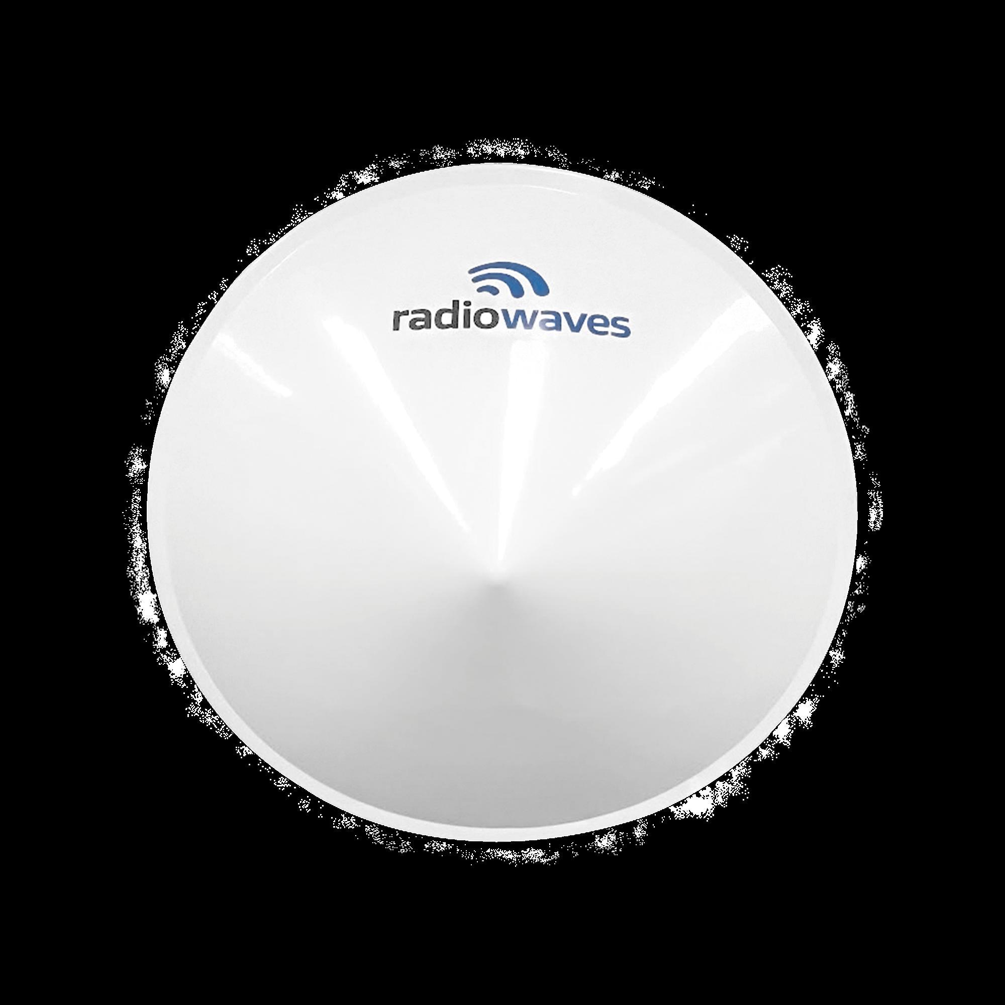 Radomo para antenas SPD2-5.2NS, SPD2-5.9NS, Dimensiones (2 ft), Reduce la carga del viento y mejora la estabilidad del enlace