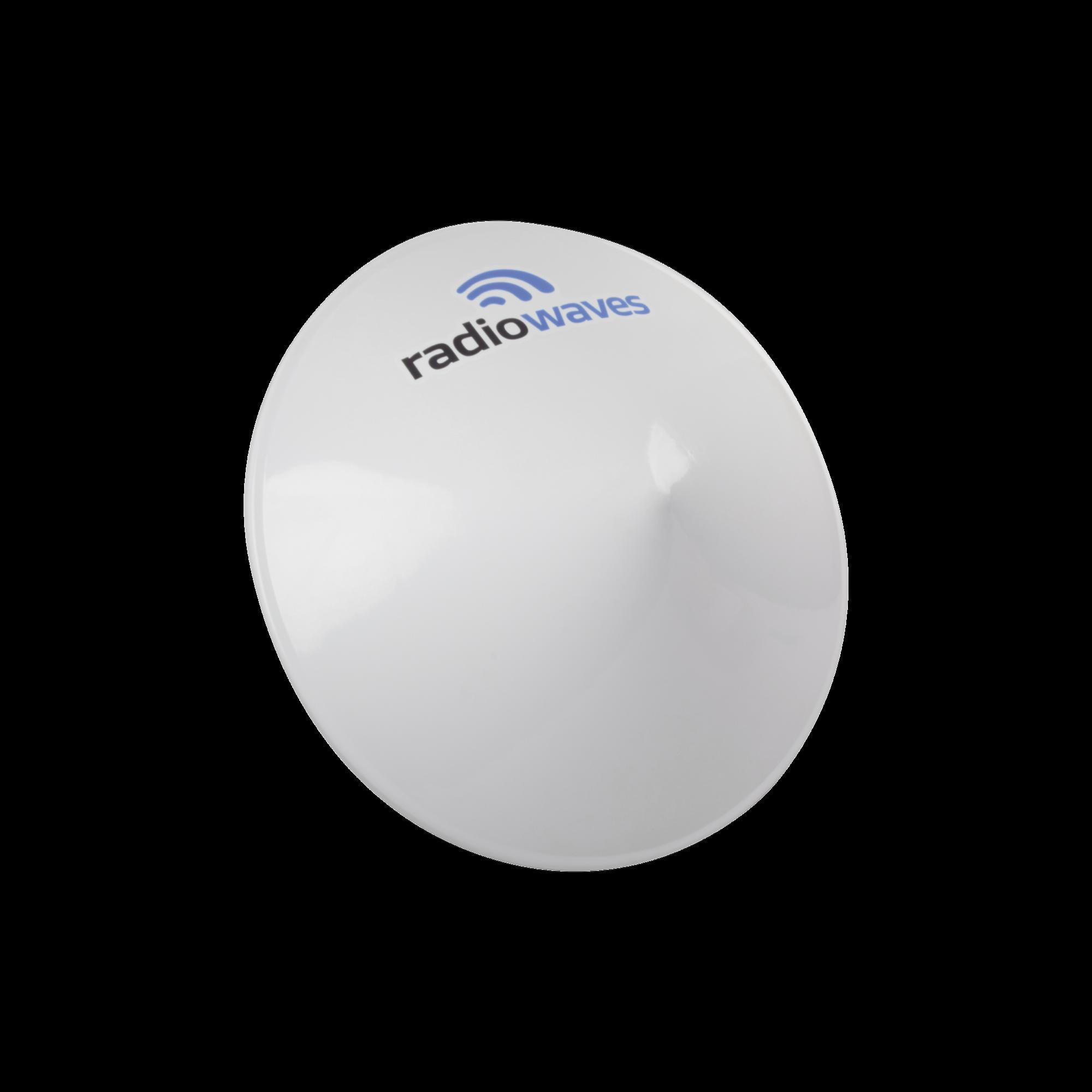 Radomo para antena SPD3-5.9NS, Dimensiones (3 ft), Reduce la carga de viento y mejora la estabilidad del enlace