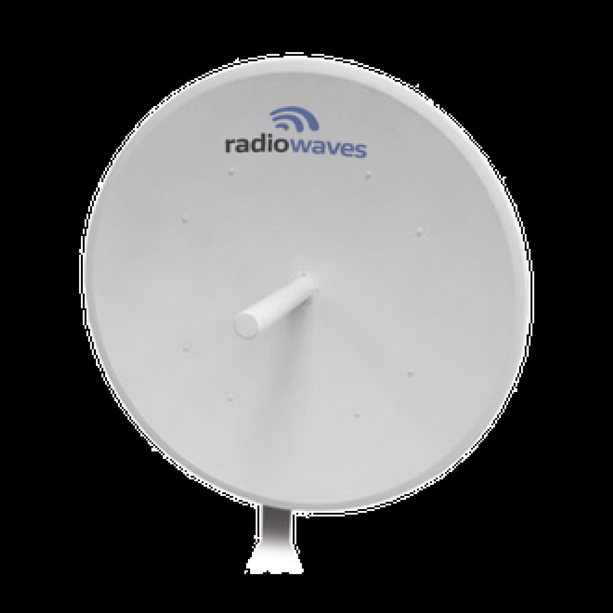 Antena direccional, Dimensiones (4 ft), 4.9 - 6 GHz, 2 Conectores N-hembra, Ganancia 35dBi, Montaje incluido