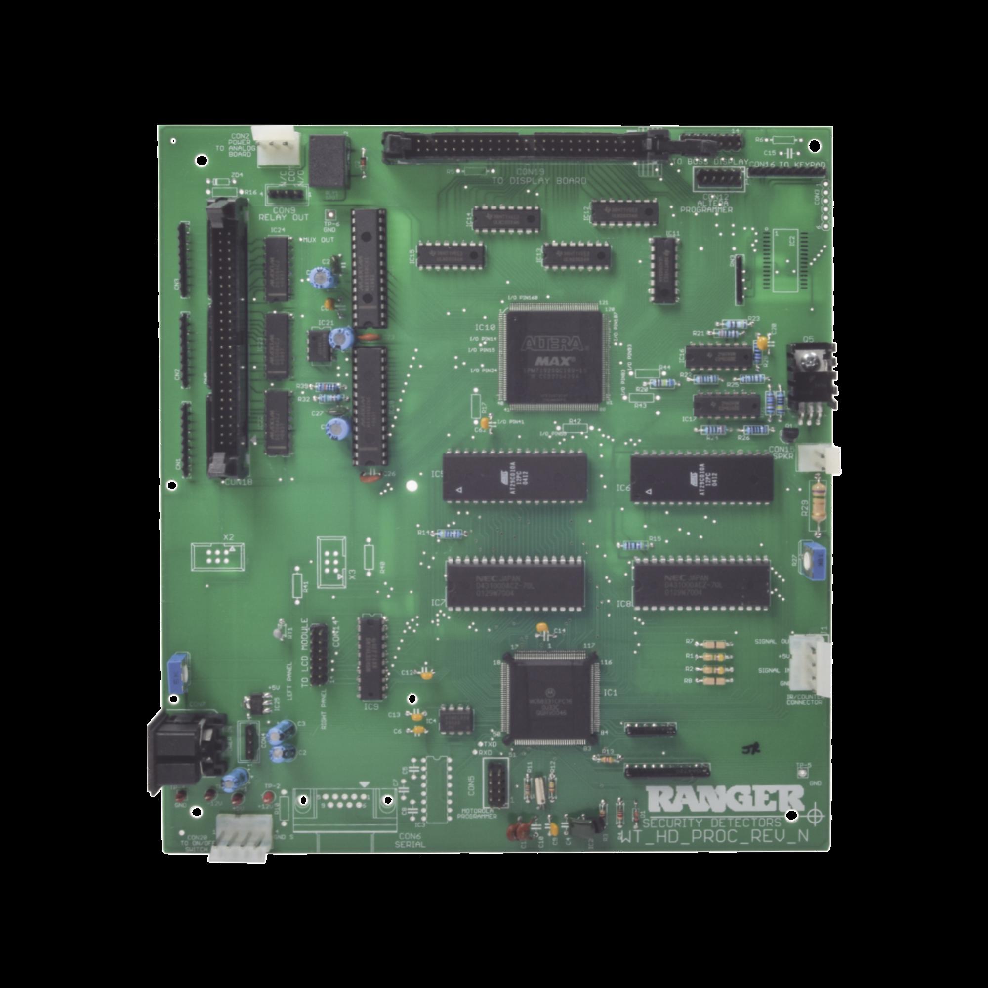 Tarjeta Digital Para Puerta Detectora de Metales INTELL218Z