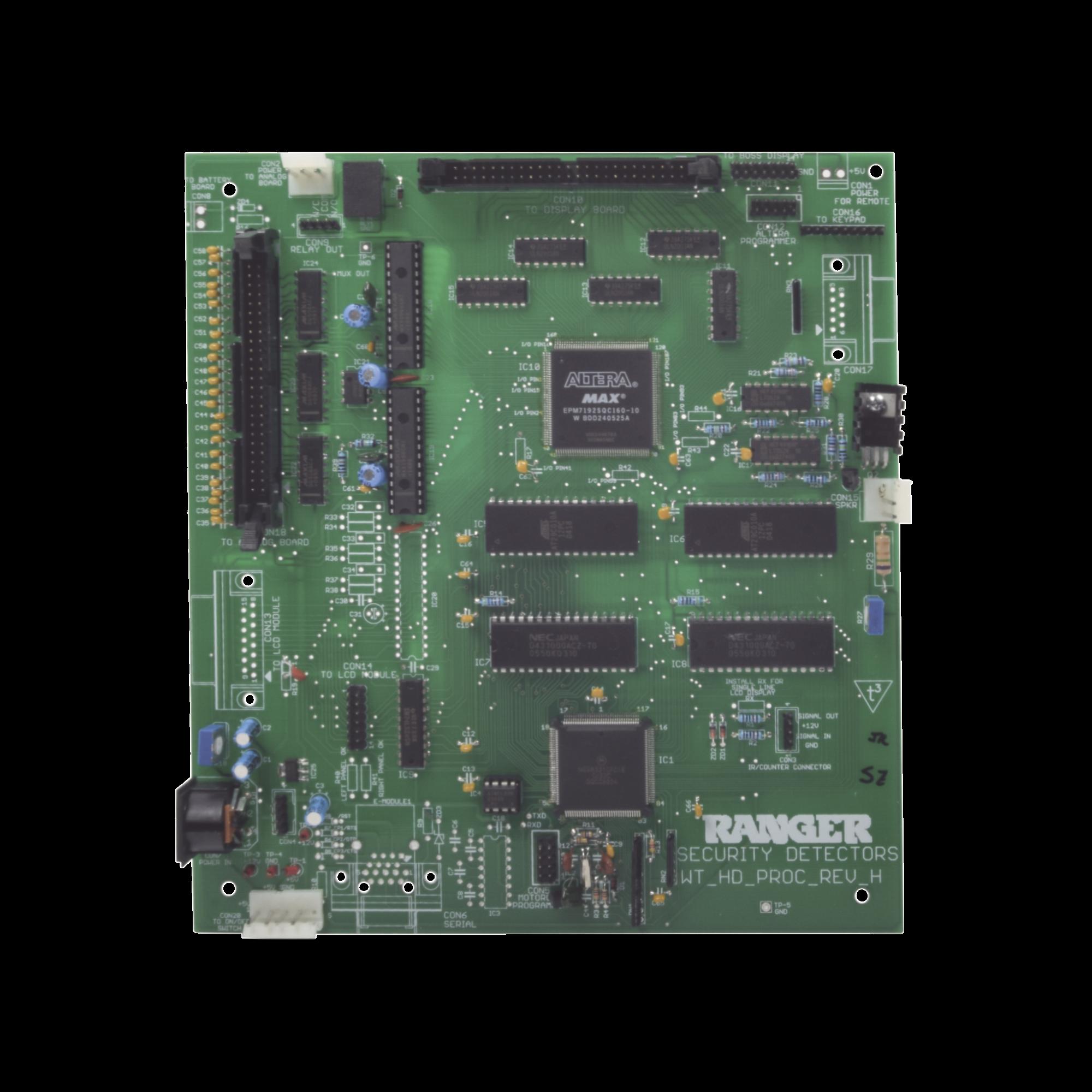 Tarjeta Digital Para Detector de Metales SafetyZone2