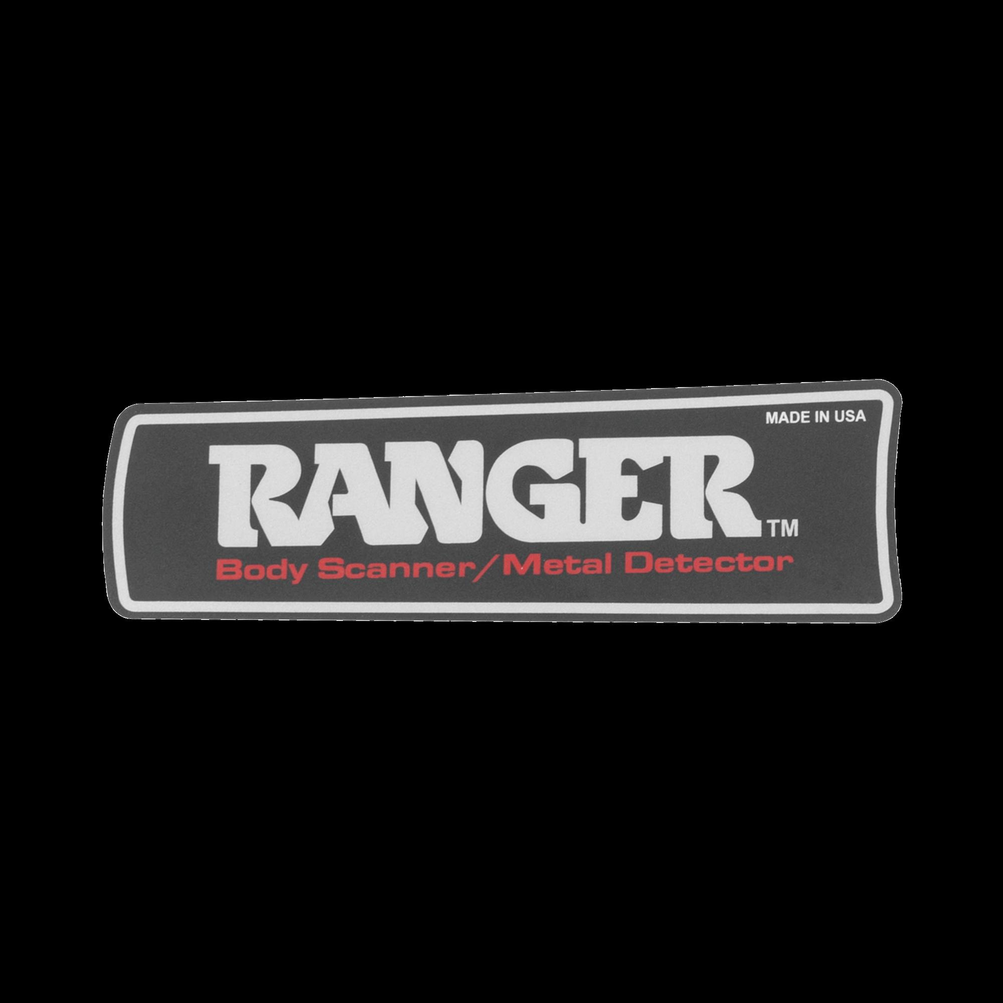 Label para Detector RANGER1000 y 1500